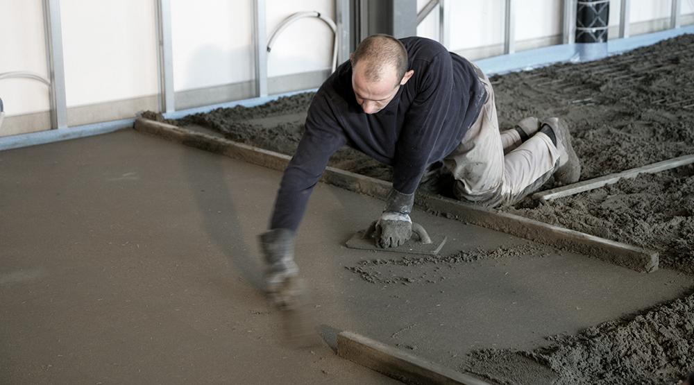 Chape vloerisolatie bouwdrogers ivo van dooren for Carrelage sur chape