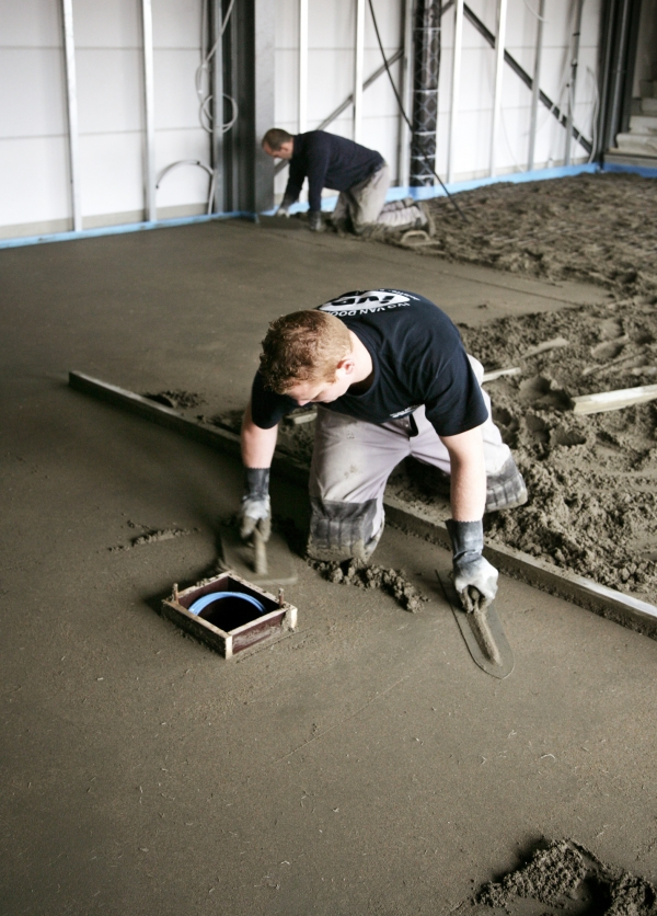 Ivo Van Dooren | Chape, vloerisolatie, bouwdrogers